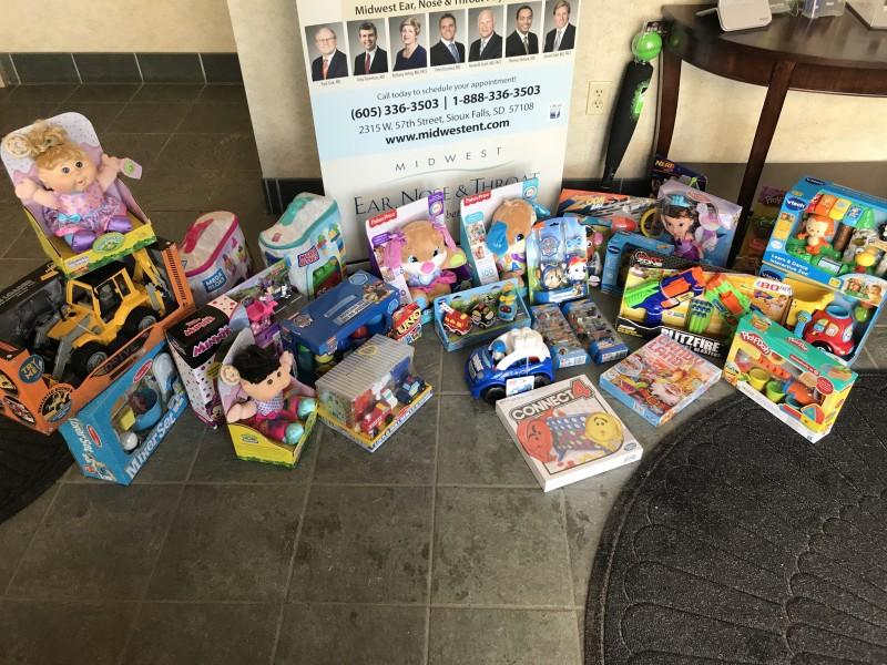 Lloyd Construction Team Responds To Toy Challenge