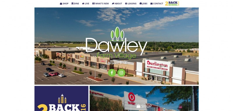 Dawley Farm Village debuts improved website