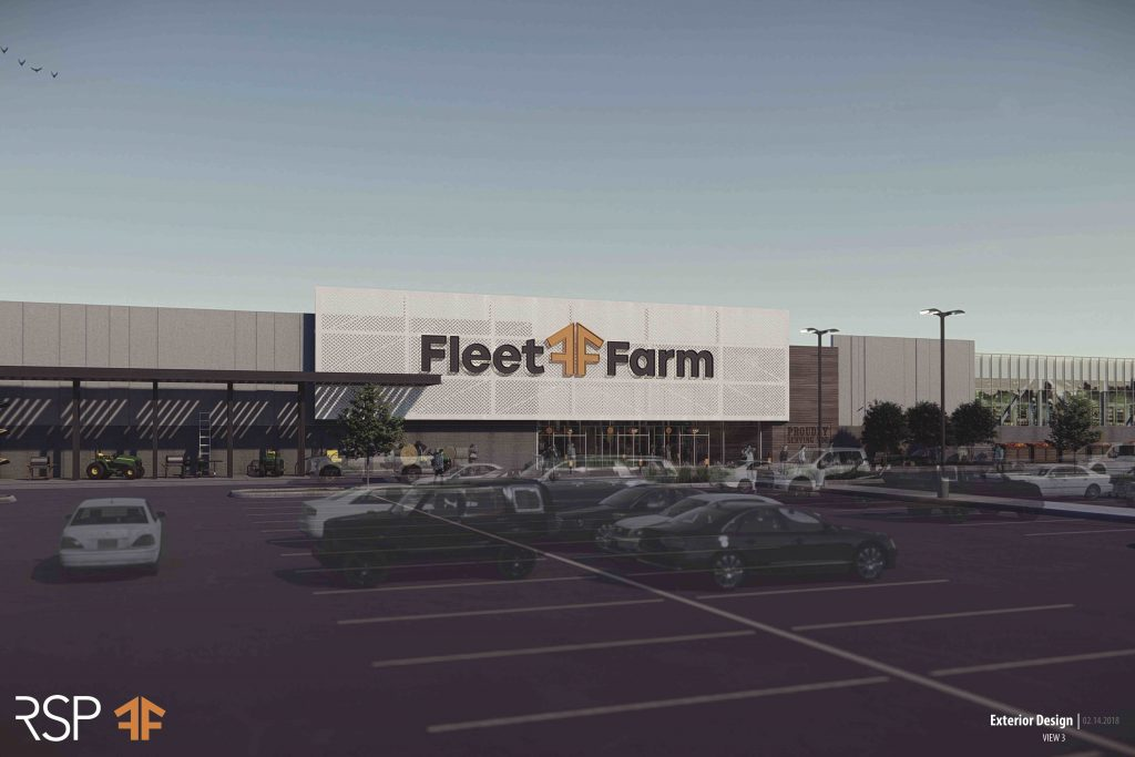 Mills Fleet Farm Rendering