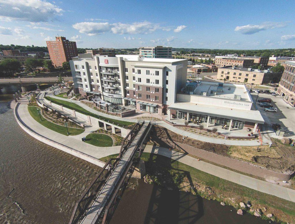 Hilton Garden Inn Sioux Falls Downtown Lloyd Companies