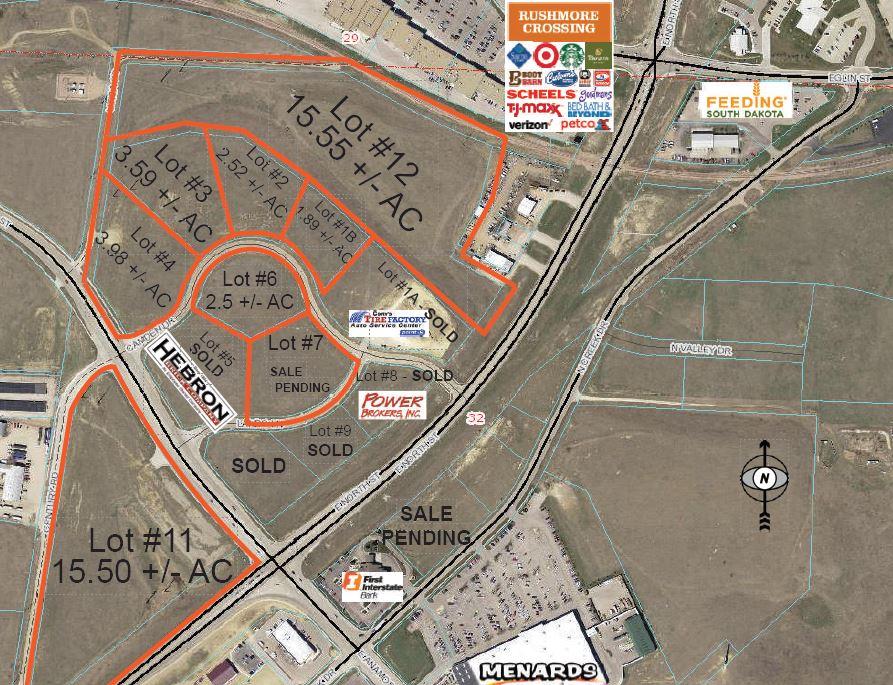 Rapid City Development Land