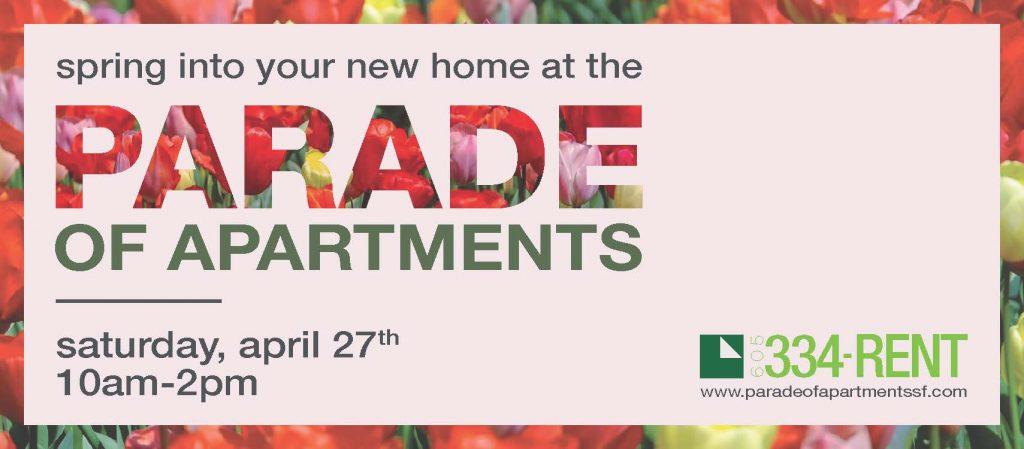 Parade of Apartments Spring 2019