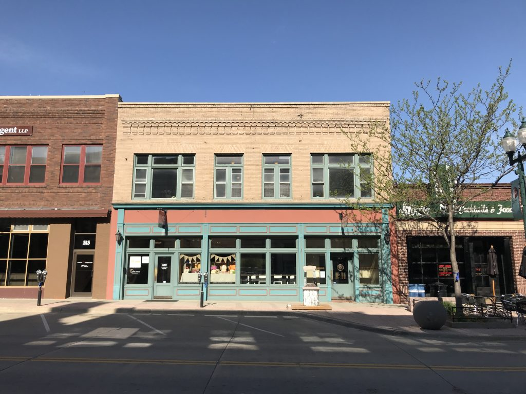 Telford Downtown Building Retail