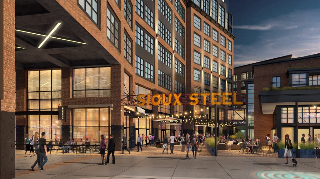 Sioux Steel Development Rendering