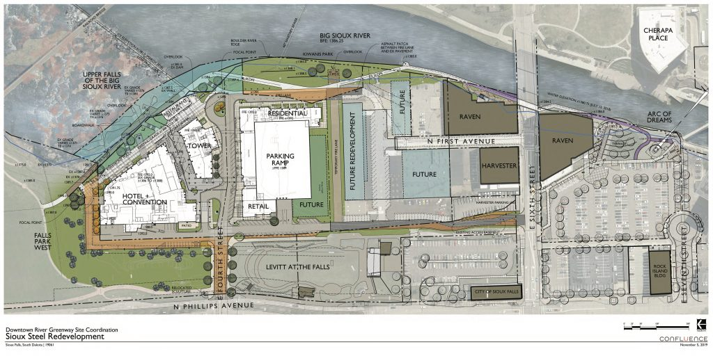 SiouxSteel Site Plan Phase 1