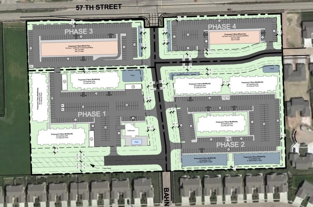 57th and Bahnson Site Plan
