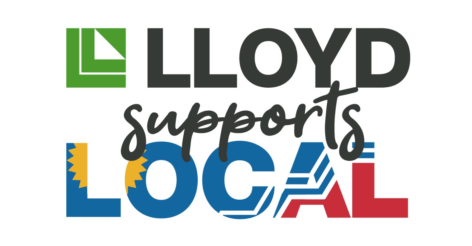 Lloyd Supports Local Logo