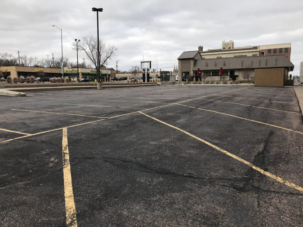 Downtown Parking Lot Available