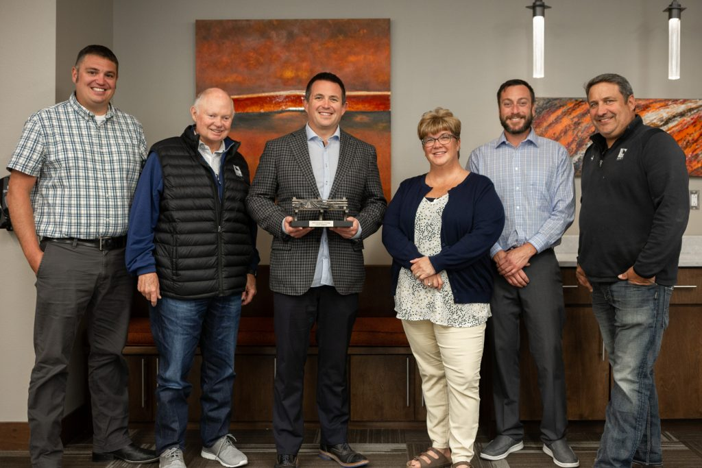 Lloyd Honored To Receive Instrument Of Courage Award