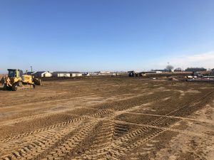 Flats and Prairie Pointe Graded Land