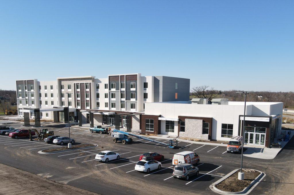 Hilton Garden Inn Cedar Rapids Aerial