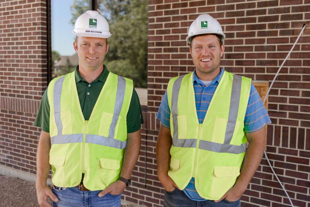 Lloyd construction team