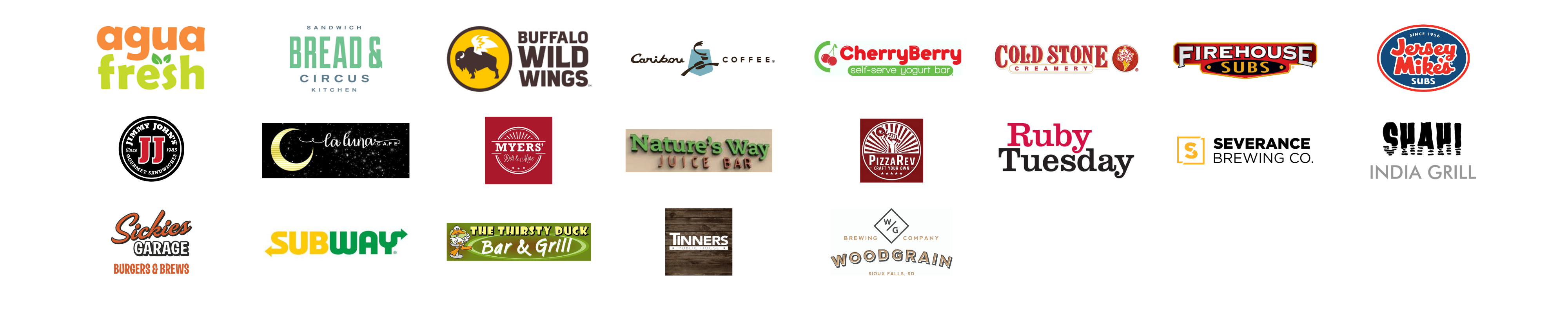 Support Local Restaurant Logos