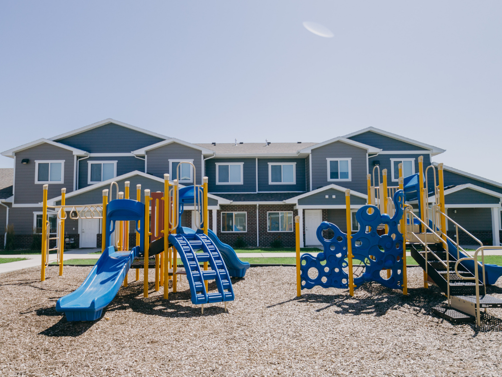 Trinity Pointe Exterior and Playground