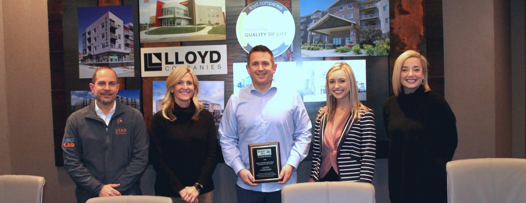 Lloyd Companies Honored With United Way Business Of The Year Award