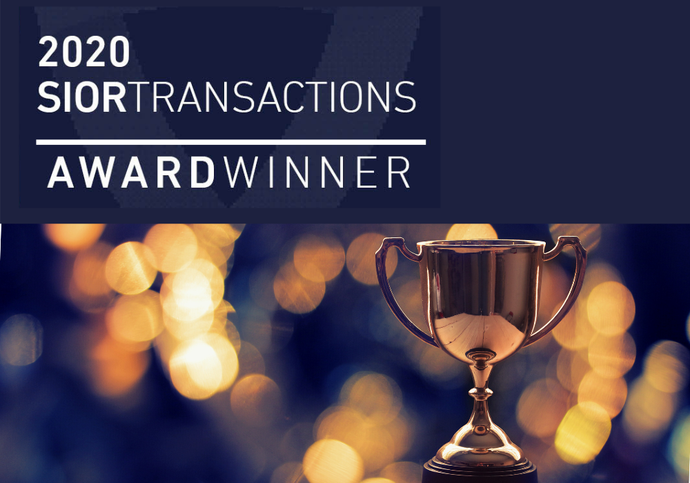 Lloyd's Blount And Rieffenberger Honored By SIOR For Major Transaction
