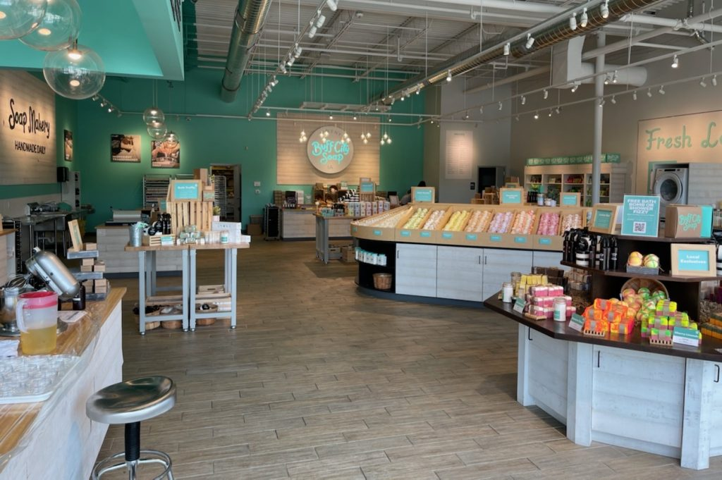 Empire Place does it again! Welcome, Buff City Soap!