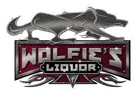 Wolfie's liquor spot logo