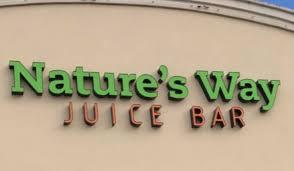 natures way juice bar logo
