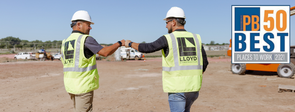 Seven Years To Celebrate: Lloyd Companies Named Among 50 Best Places To Work Again