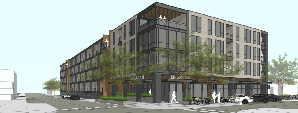 New Commercial And Apartment Community Will Transform South Downtown Lot